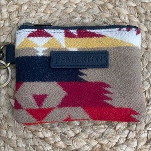 Pendleton ID pouch key ring wallet